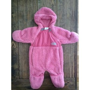 North Face Shaggy Pink Winter Suit